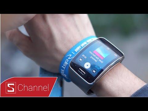Schannel - Đánh Giá Samsung Gear S: Khen Và Chê