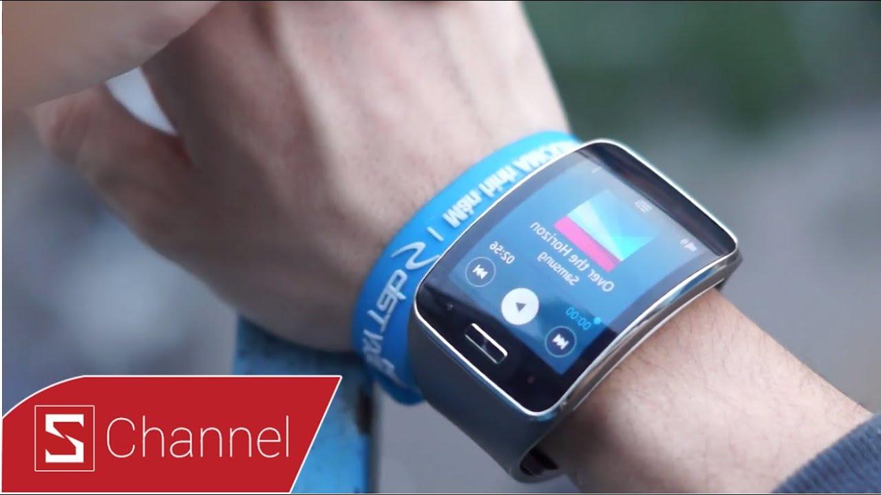 Schannel – Đánh giá Samsung Gear S: Khen và Chê