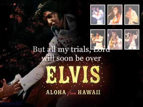 Elvis Presley An American Trilogy 1973, Aloha From Hawaii Instrumental With Lyrics