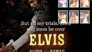 Elvis Presley An American Trilogy 1973, Aloha From Hawaii Instrumental With Lyrics