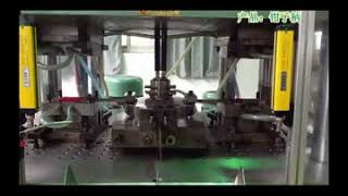 Screw driver two color injection molding machine