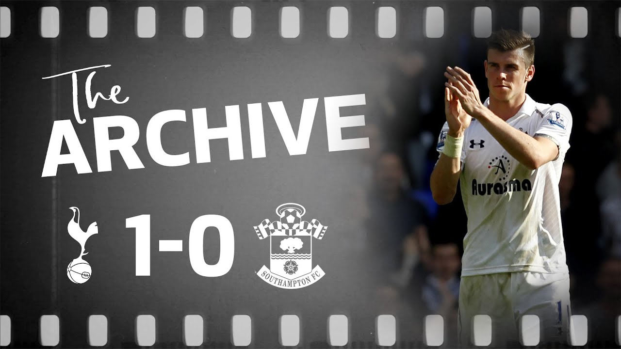 THE ARCHIVE | SPURS 1-0 SOUTHAMPTON | Bale's stunner beats Saints!