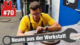 Neues aus der Werkstatt: Ein Appell und keine (passende) Überschrift...
