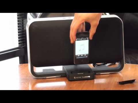 Altec Lansing High Speaker System for iPhone - eStore.com.au YouTube Demonstration