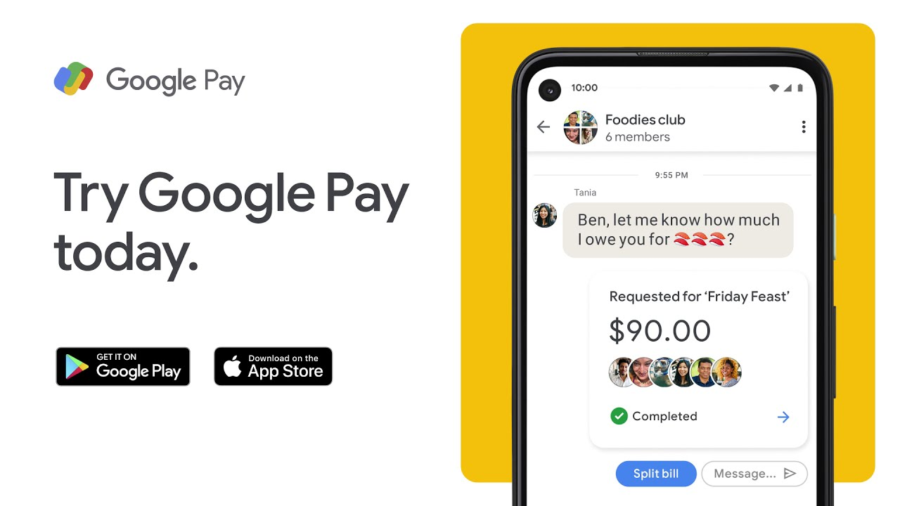 Google Pay - P2P Group
