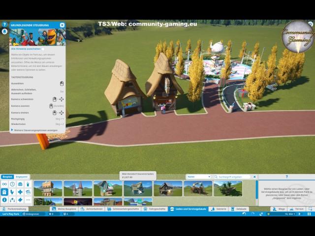 Let's Play Planet-Coaster | Die ersten Geschäfte | Folge #001