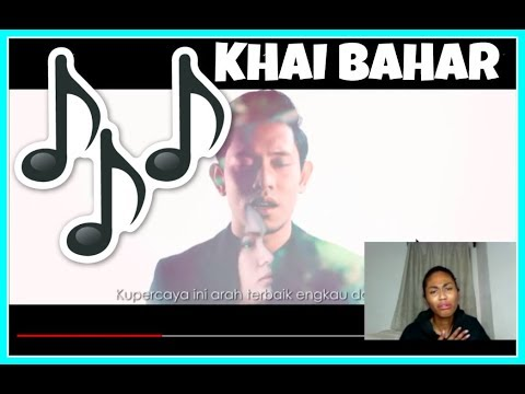 KHAI BAHAR   JODOHKU - OST Cinta Tiada Ganti (Official Lyric Video)   Reaction