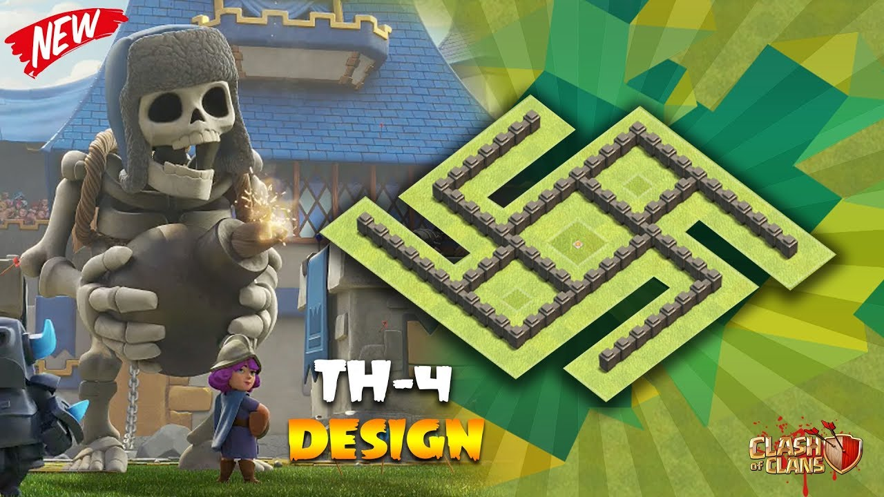 Town Hall 4 Th 4 Ultimate Farming Base 2018 Clash Of Clans