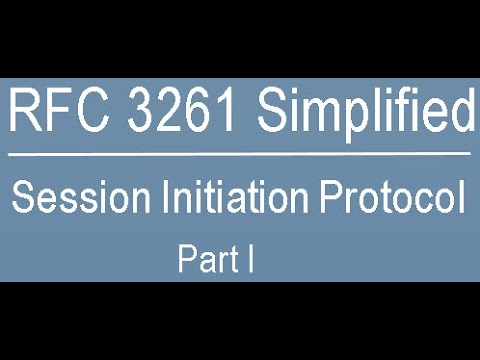 RFC 3261 Simplified: Session Initiation Protocol Part-One