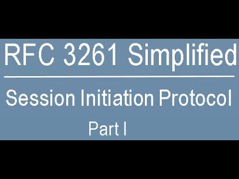 Initiation protocol pdf session