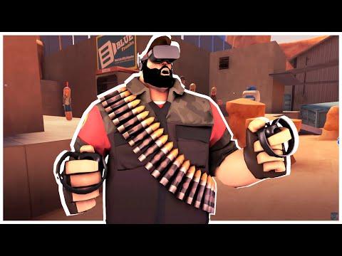 Team Fortress 2 В Виртуальной Реальности! H3VR Meat Fortress!