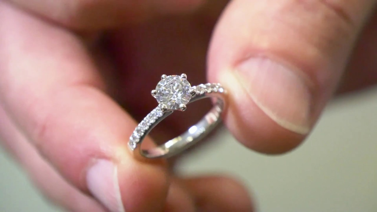 Watch how we make STUNNING engagement rings for our customers?