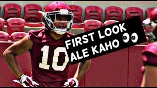 First look at Alabama linebacker Ale Kaho