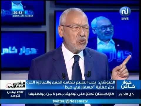 Interview avec Rached Ghannouchi (Deuxième partie)
