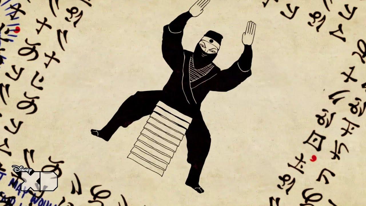 Randy Cunningham - Go Ninja Go - Official - Music Video [HD]