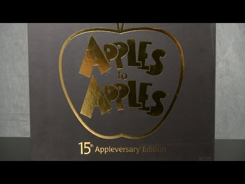 Apples to Apples 15th Appleversary Edition from Mattel