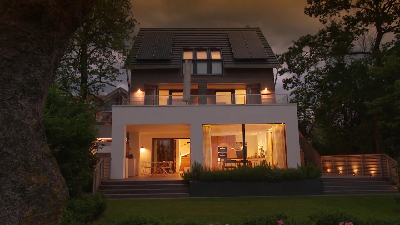 Baufritz Musterhaus Haus Am See Youtube