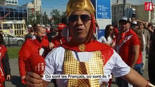 Le match France - Pérou