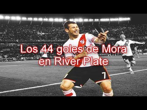 Todos los goles de Rodrigo Mora en RIVER
