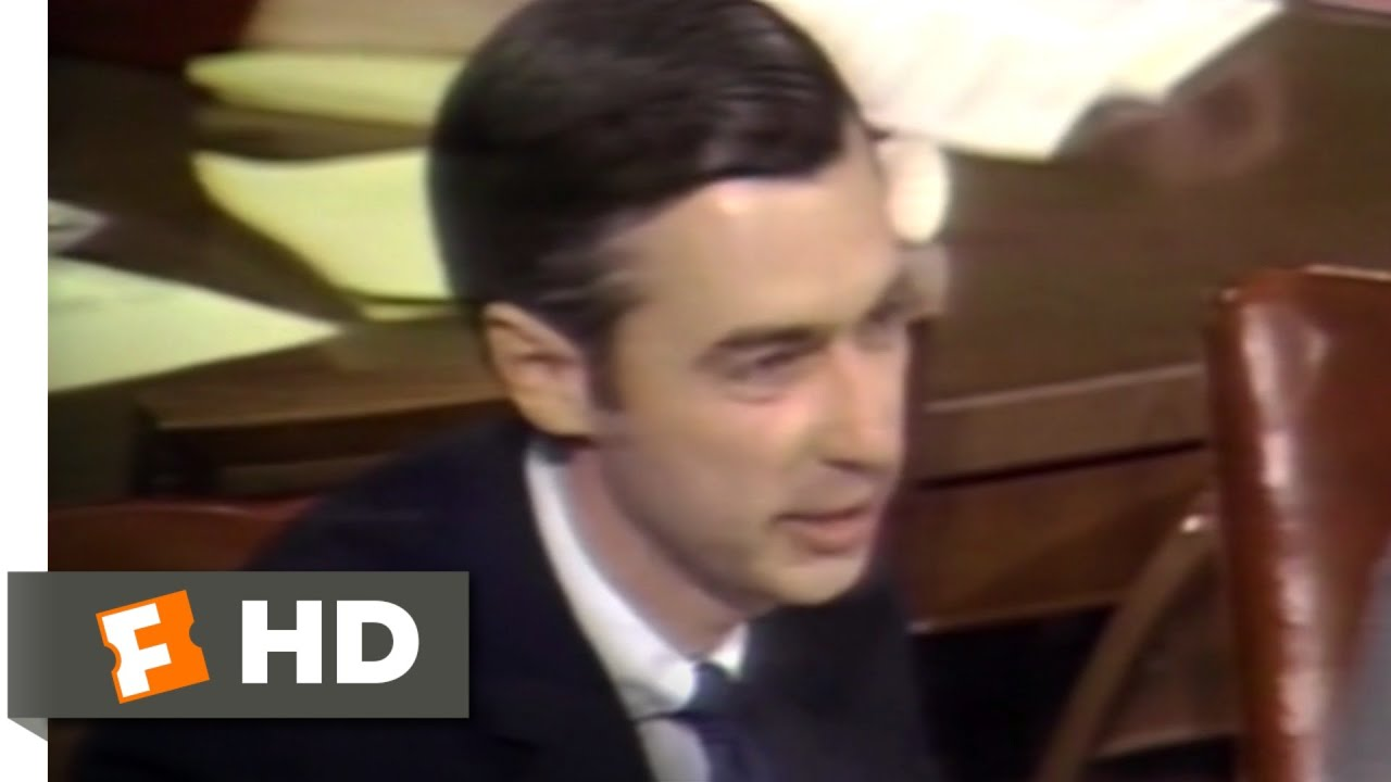 Tbt Mister Rogers Testifies To Senate About Pbs Funding