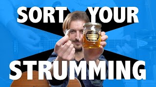 Sort your STRUMMING... with Honey and a Feather?? (cool trick that works)