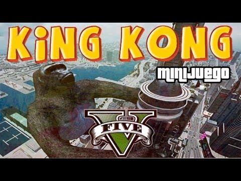 GTA V Online - Minijuego King Kong - Epico!