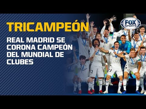 ¡REAL MADRID, TRICAMPEÓN DEL MUNDO!