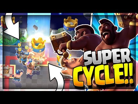 NEW HOG SUPER CYCLE!! Best Hog Deck after Update!! 3.1 Elixir Fast Cycle Hog - Clash Royale