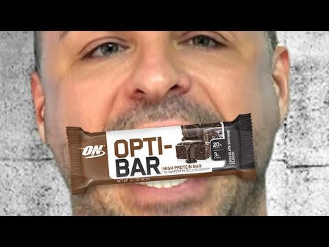 Optimum Nutrition Opti-Bar Supplement Review and Taste Test