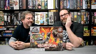 Unboxing of Jurassic World Volcano Escape Game