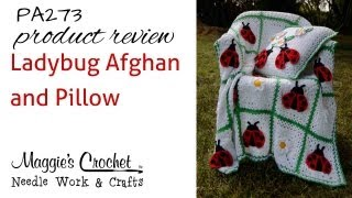 Ladybug Afghan And Pillow - Product Review Pa273