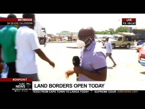 Truck drivers fearful of possible massive queues at Beitbridge Border post