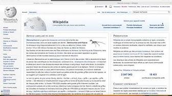 Créer un article sur Wikipédia