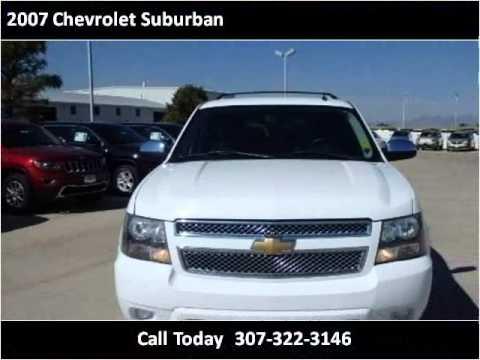 2007 Chevrolet Suburban Used Cars Cheyenne Wy Youtube