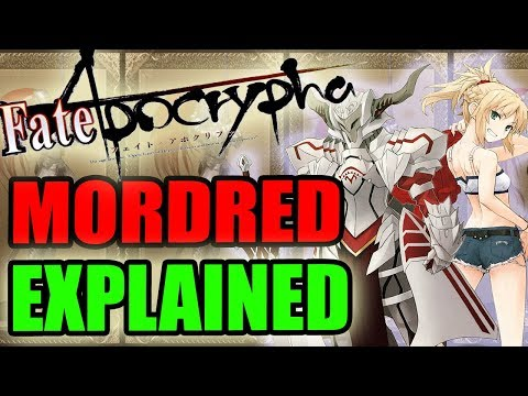Fate Apocrypha - MORDRED / SABER OF RED EXPLAINED