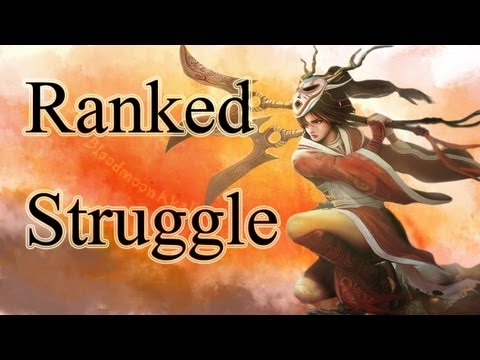 Ranked Struggle - League of Legends - S2 EP9 - Akali Premade Ownage