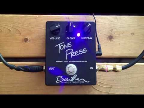 5 Minutes with the Barber Electronics Tonepress - Pedal Demo