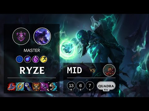 Ryze Mid vs Graves - EUW Master Patch 10.15