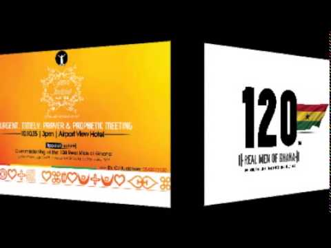 Launch of 120 Real Men of Ghana