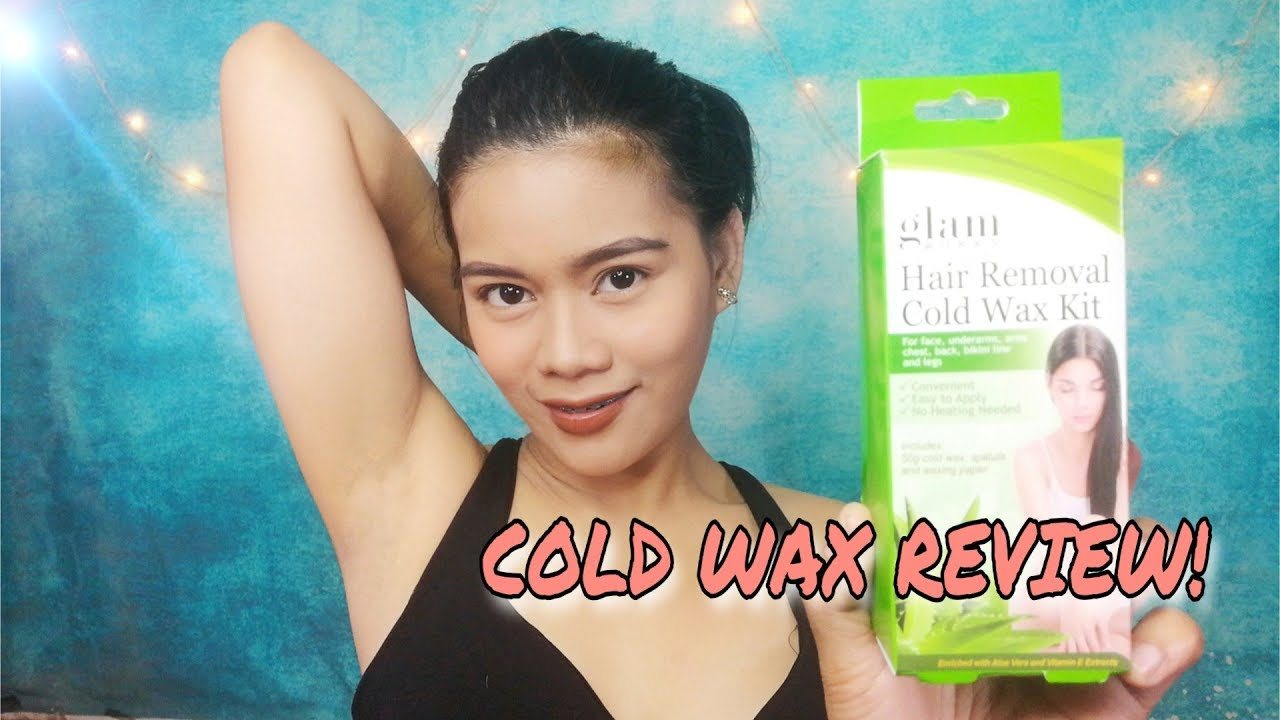 Yung Totoo Hair Waxing Using Glamworks Hair Removal Cold Wax