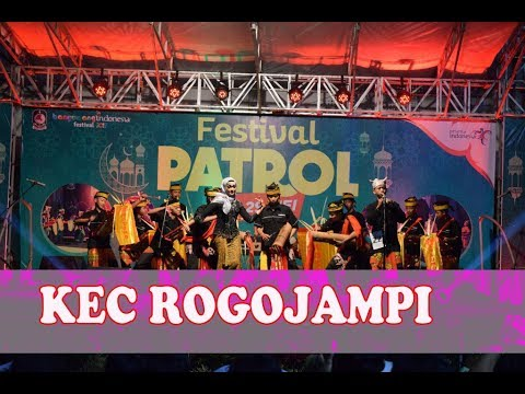 Festival Patrol Kec Rogojampi musik serba bambu 2018 Banyuwangi