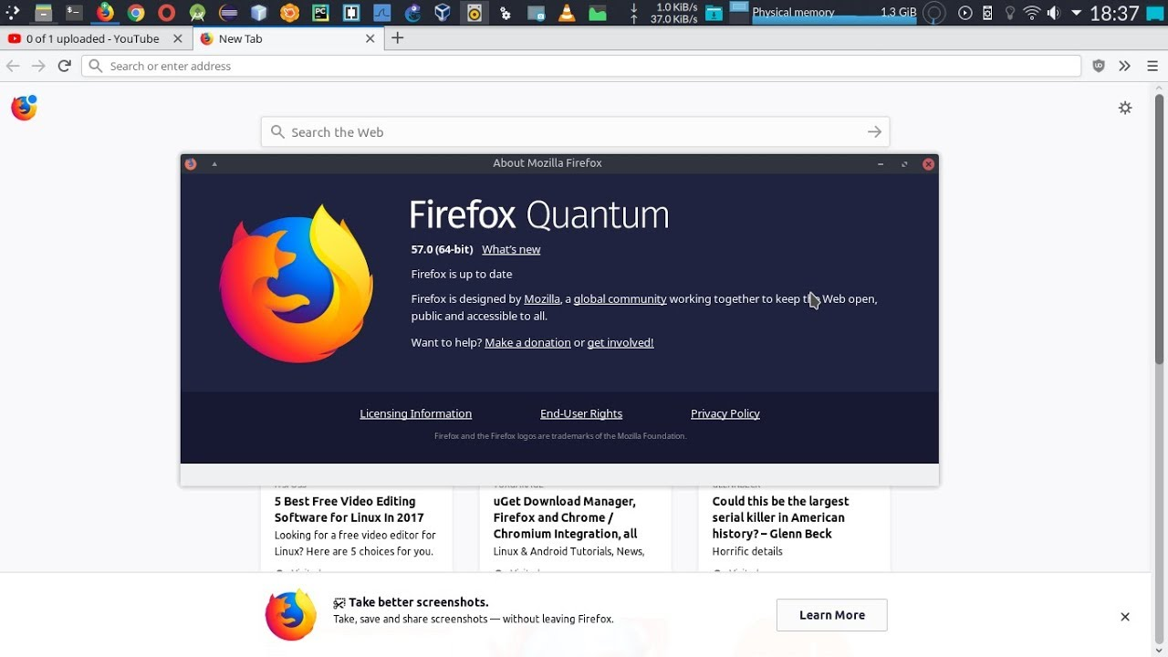 video firefox quantum