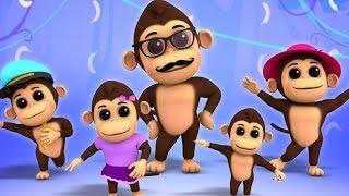 Gorilla Finger Familie   Finger Familien lied   Kinderreime