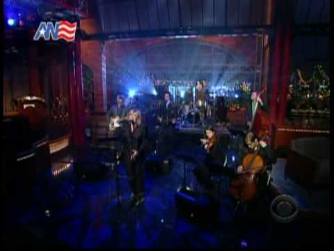Marianne Faithfull @ Letterman (March 31, 2009)