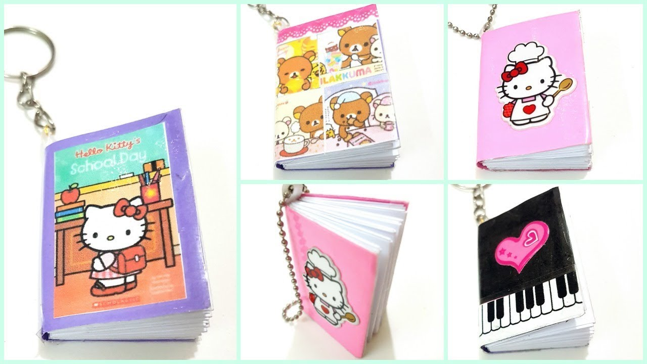 Diy Unicorn Book Cover : Diy mini notebooks youtube