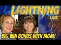 BIG WIN WITH MOM-TIKI FIRE FREE SPINS