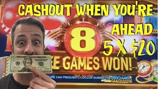 SLOT MACHINE CASHOUT STRATEGY 5 x $20 ✧ TOTAL MELTDOWN ✧ BULLION FACTORY AND MORE!!