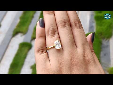 2.87-ct-long-cushion-cut-colorless-moissanite-ring-|-solitaire-engagement-ring-|-hidden-halo-ring