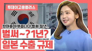 박하윤 아나운서 [투데이고용플러스] 日수출규제 1년 20200701
