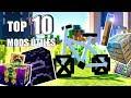 TOP 10 MODS ÚTILES para MINECRAFT 1.12.2 - ENCANTAMIENTOS , SUPER HORNOS y VEHÍCULOS - MODS OP